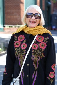 A West Village lady; Photo Advanced Style