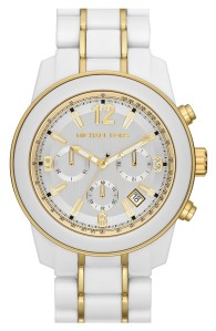 Love a white watch as a summer basic!  Michael Kors, Nordstrom