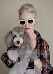 Photo: Linda and Winky, Advanced Style