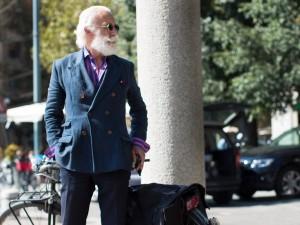 Milan; Photo: The Sartorialist, Oct 11, 2013