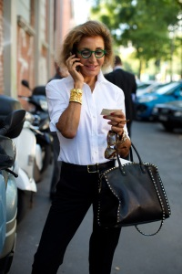 Milan; Photo: The Sartorialist, Sept 20, 2013